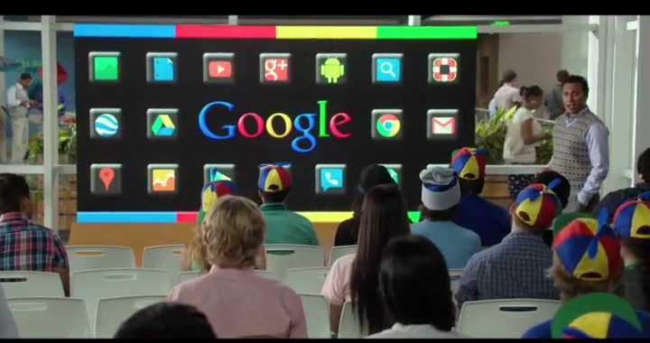 The Internship gave a glimpse into the workplace culture of Google