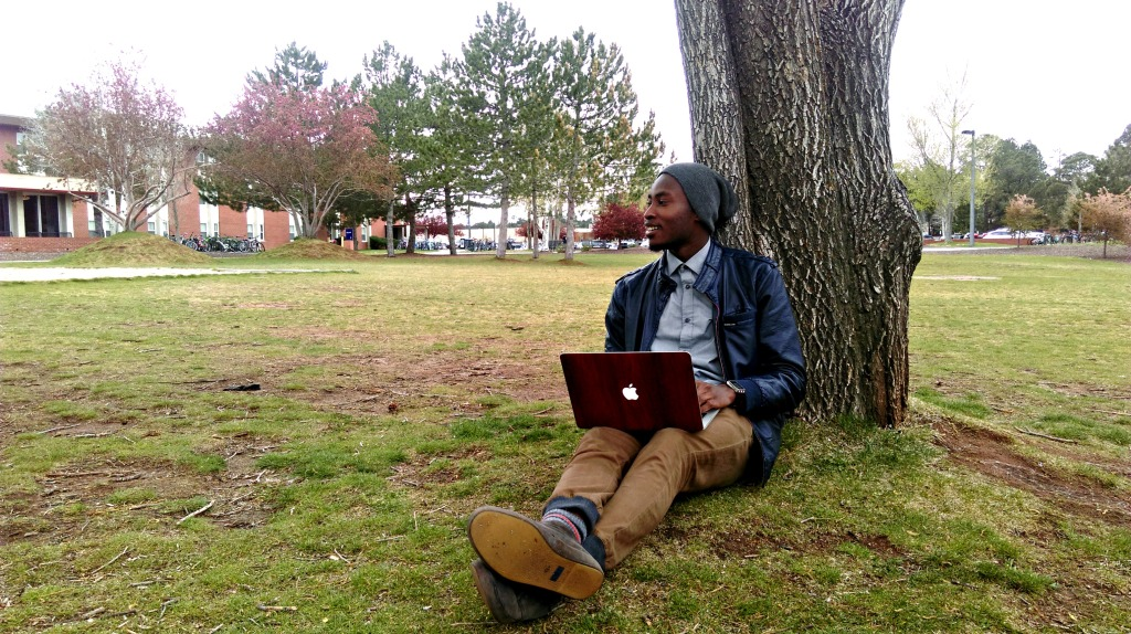 """If you could give your freshman-self advice, what would it be? """"Don't be afraid to reach out and network with people because so many doors open when you do that."""" -Herbie, Senior, Computer Science"""
